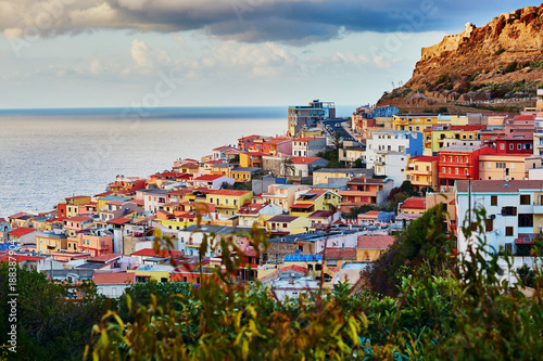 Castelsardo village in Sardinia, Italy