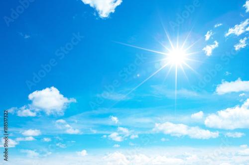 Obraz na plátně sunny sky