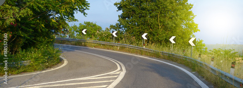 Strada curva