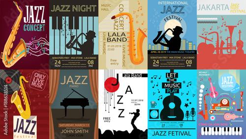 Photo Jazz Music Poster