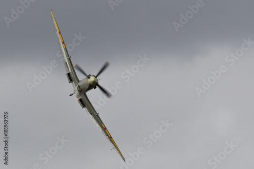 Old Warden Aerodrome, Biggleswade, Bedfordshire, UK AUGUST 19 2017 - An ex-RAF S Fototapeta