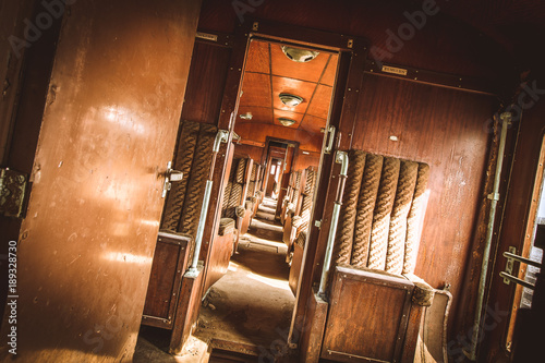 Stampa su Tela Orient Express - Lost Place