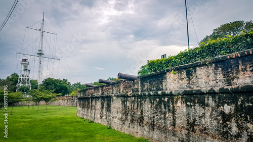 Fotografia, Obraz Fort Cornwallis Penang Malaysia  South East Asia