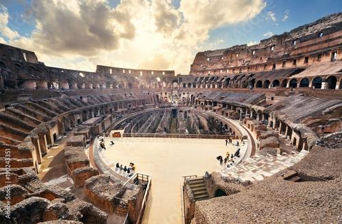 Billede på lærred Colosseum in Rome