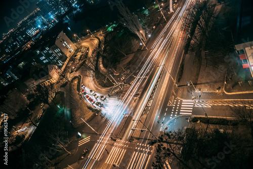 Ταπετσαρία τοιχογραφία city by night