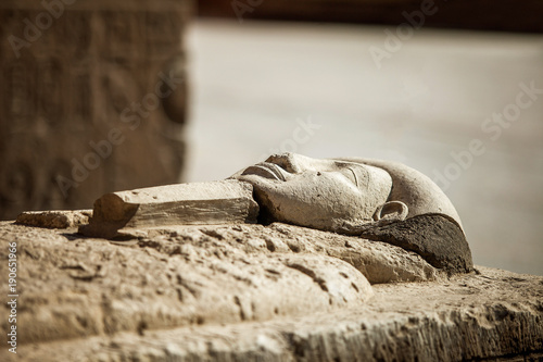 Wallpaper Mural Pharaoh stone sarcophagus tomb