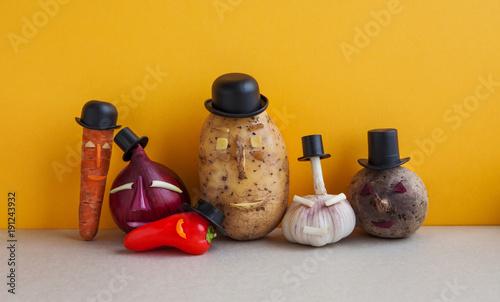 фотография Vegetables team