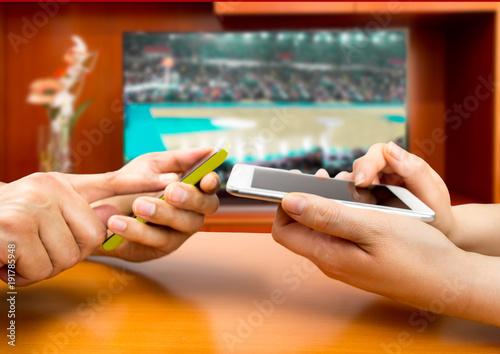 Fotografia betting in basketball