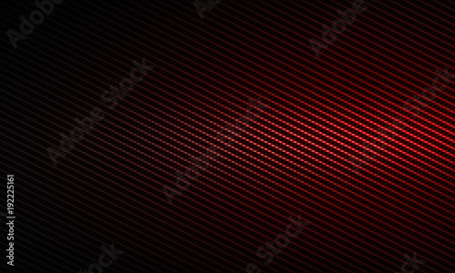 Foto Abstract modern red carbon fiber textured material design for background, wallpa