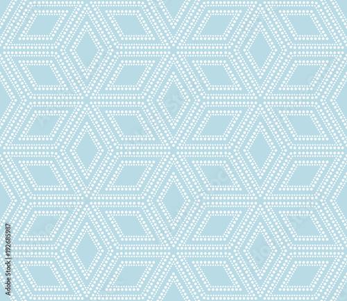 Obraz na płótnie na niebiesko z abstrakcyjnym wzorem