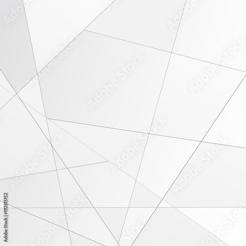 Grey abstract polygonal modular background