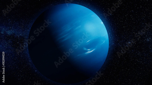 Obraz na płótnie Solar System - Neptune