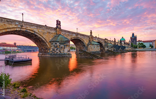Canvas The Charles Bridge of Prague