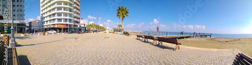 Fotografia Larnaca Finikoudes promenade