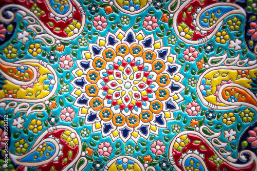 Wallpaper Mural persian pattern