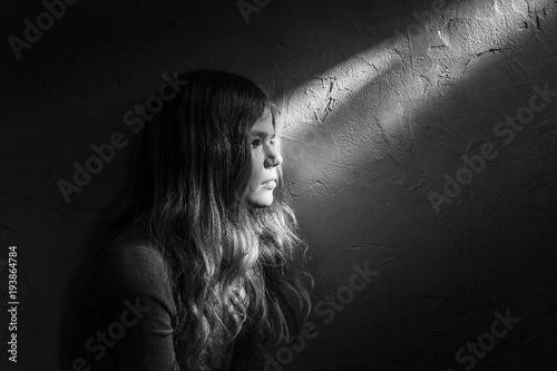 Portrait, Licht, Schatten Fototapeta