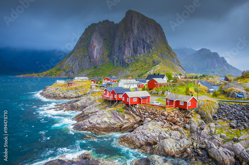 Stampa su Tela Norway, Lofoten islands