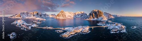 Fotografia Panorama - Reine - Sakrisøy - Hamnøy