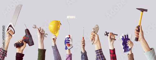 Fotografia, Obraz Building tool repair equipments