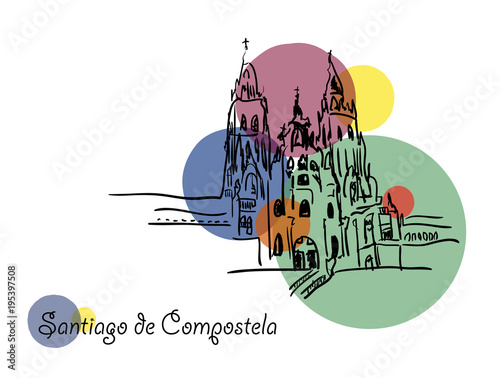Foto Santiago de Compostela.
