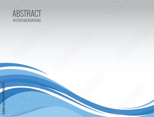 Obraz na plátně abstract wave vector backgrounds