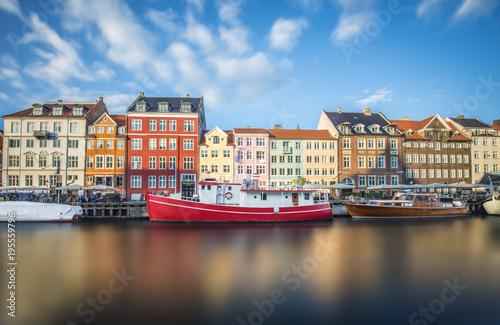 Canvas Print Copenhagen Ships