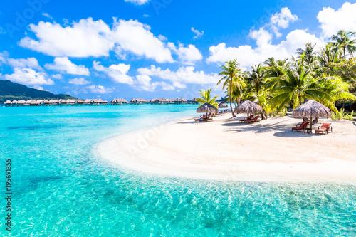 Obraz na plátně Bora Bora Island, French Polynesia.