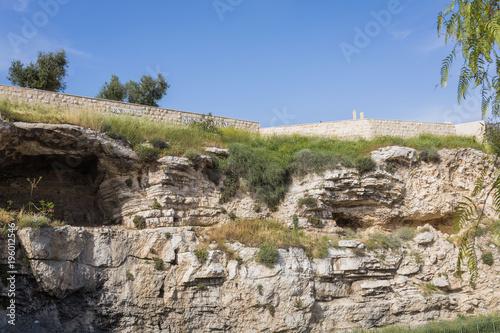 Cuadros en Lienzo Hill of Golgotha in Jerusalem, Israel