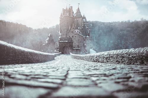 magic castle Fototapete