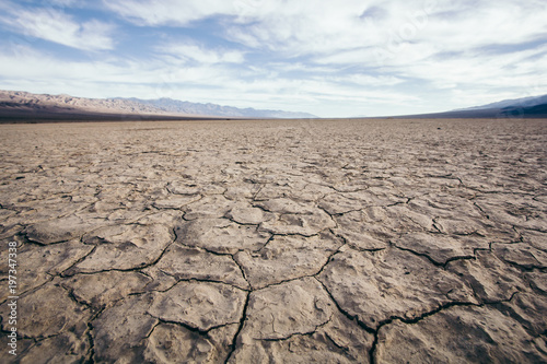 Photo Extremly dry soil in the Desert