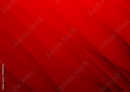 Tablou Canvas Abstract red vector background with stripes