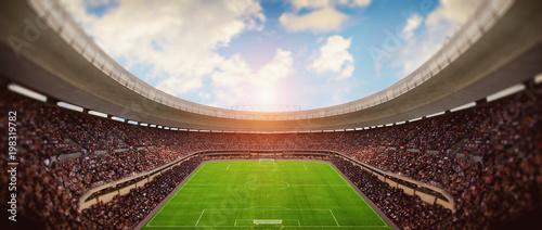 Plakat Stadion piłkarski