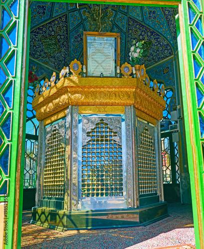 Obraz na plátne Shia Shrine in Rayen, Iran