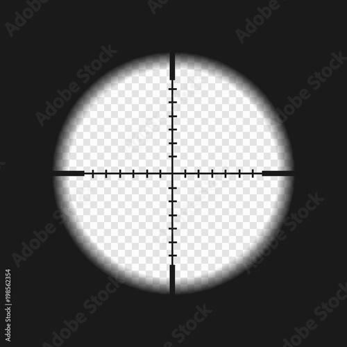Fotografie, Obraz sniper sight with measurement marks