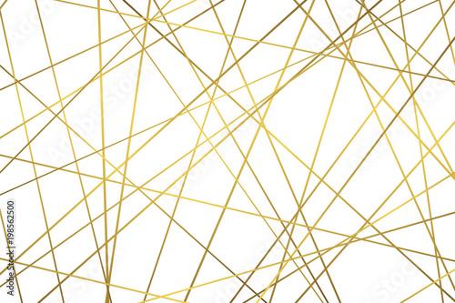 Złoty geometryczny wzór abstrakcyjny