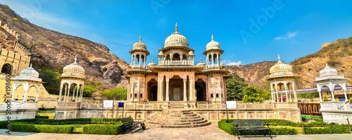 Fotografia Royal Gaitor, a cenotaph in Jaipur - Rajasthan, India
