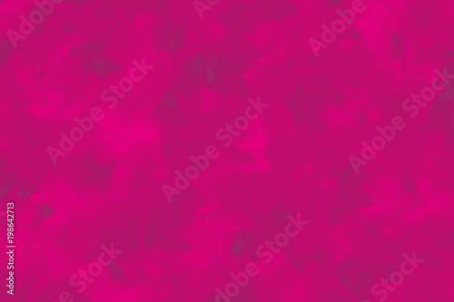 Fuchsia Pink Brush Stroked Background Fototapeta