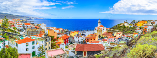 Canvas Print Candelaria, Tenerife, Canary Islands, Spain: Overview of the Basilica of Our Lad
