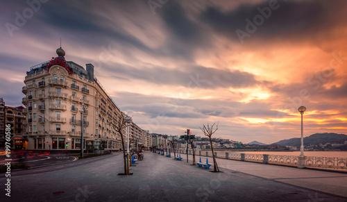 Foto The concha promenade