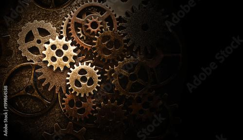 Fotografia Assorted old gears