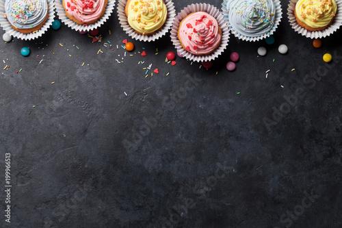 Stampa su Tela Sweet cupcakes