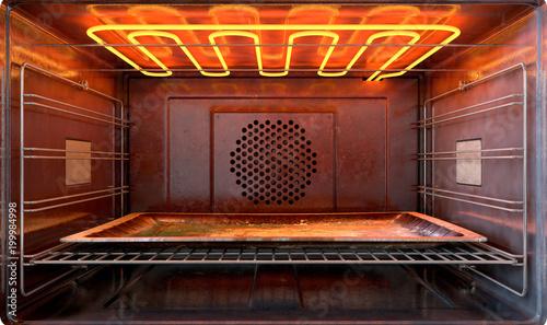 Fotografie, Tablou Inside The oven