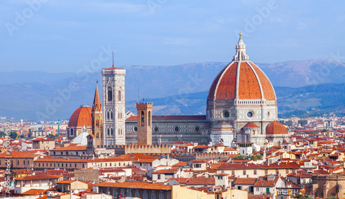 Fotografiet Florence cathedral Duomo