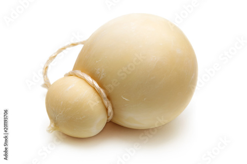 Italian cheese. Caciocavallo.