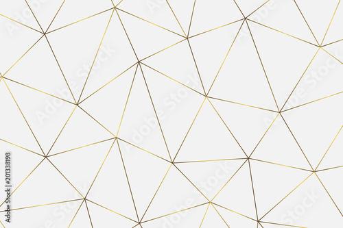 Wallpaper Mural golden geometric background