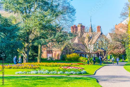 Fototapeta Grosvenor Park in Chester, England