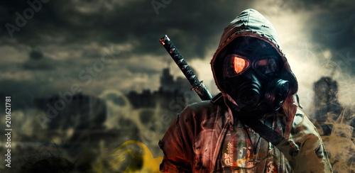 Photo Nuclear post-apocalypse survivors
