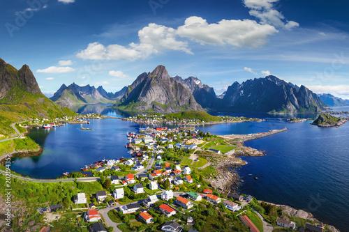 Fotografia Reine, Lofoten, Norway