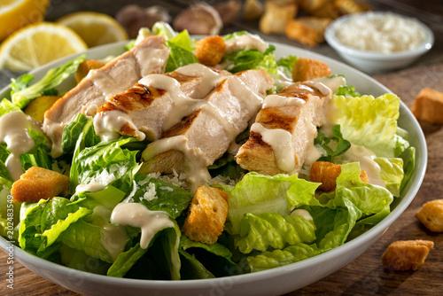 Wallpaper Mural Chicken Caesar Salad