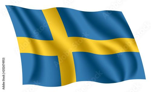 Photo Sweden flag